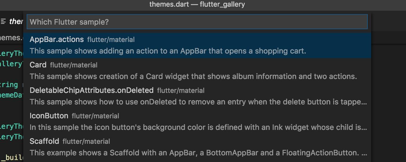 v2 22 - Dart Code - Dart & Flutter support for Visual Studio Code