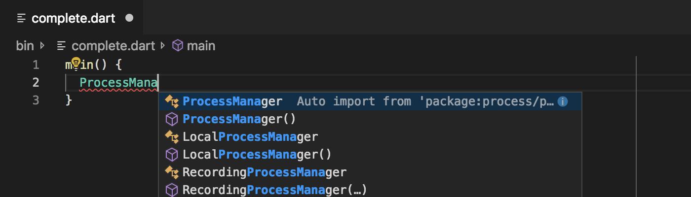 v2 26 - Dart Code - Dart & Flutter support for Visual Studio