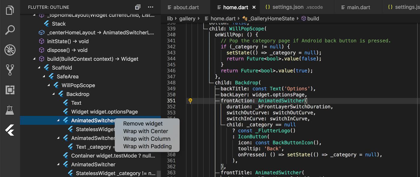 v3 3 - Dart Code - Dart & Flutter support for Visual Studio Code